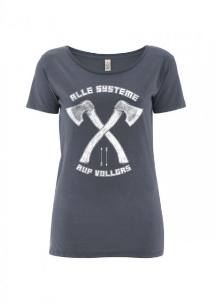 "Girly Shirt ""Alle Systeme"""
