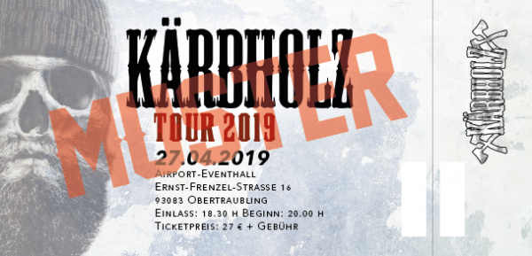 Tour Ticket 2019 - Obertraubling 27.04.2019