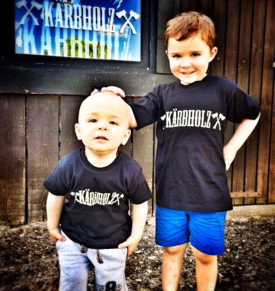 Kärbholz Vollgas R'n'R Kinder Shirt