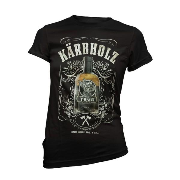 """Girly Tour Shirt """"Herz und Verstand"""""""