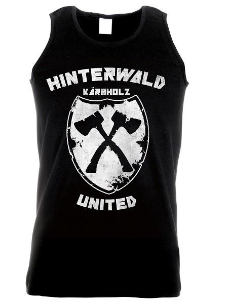 "Muskelshirt ""Hinterwald united"""