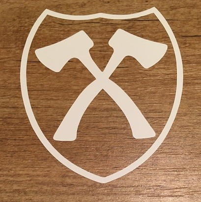 Heckscheibenaufkleber Wappen neu-klein