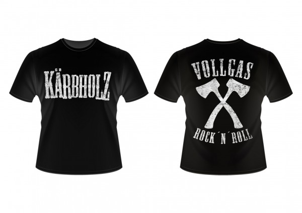 Kindershirt Vollgas Rock n Roll neu