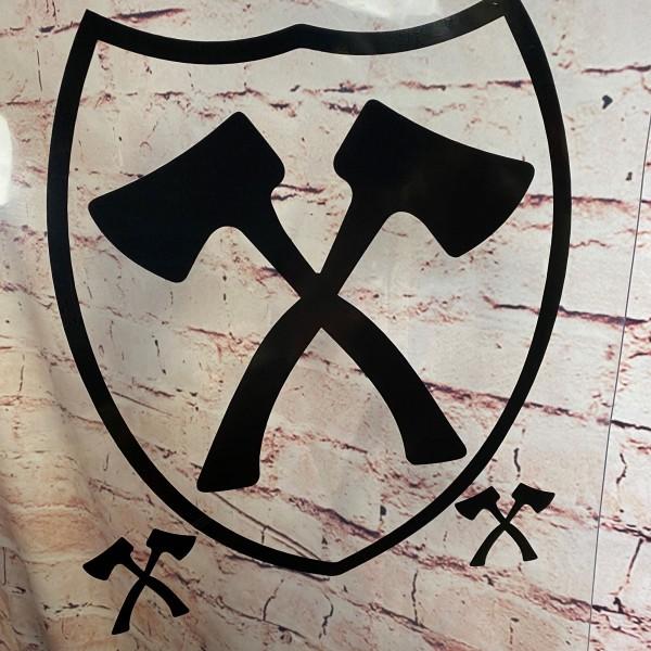 Heckscheibenaufkleber Wappen