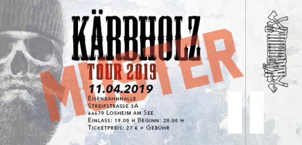 Tour Ticket 2019 - Losheim am See 11.04.2019