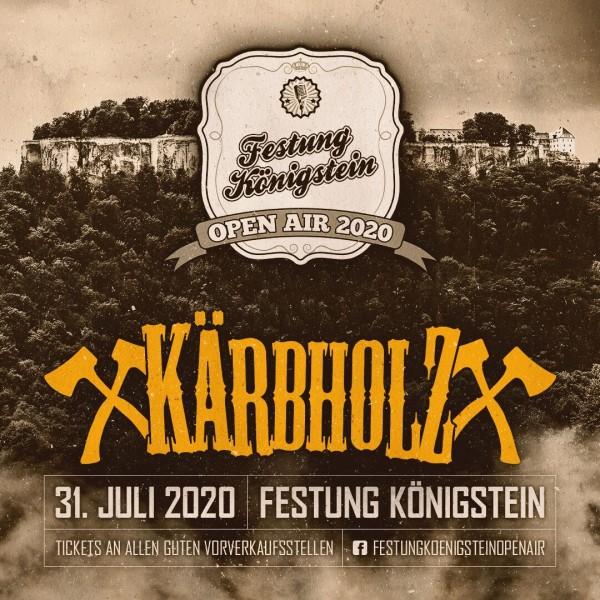 Ticket Festung Königstein -31. Juli 2020 -