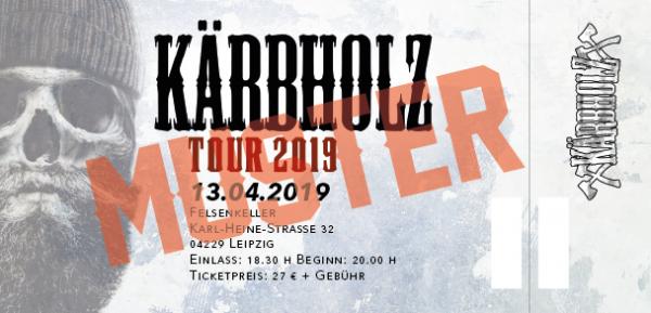 Tour Ticket 2019 - Leipzig 13.04.2019