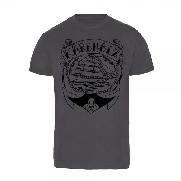 "T-Shirt ""Oldschool gray"""