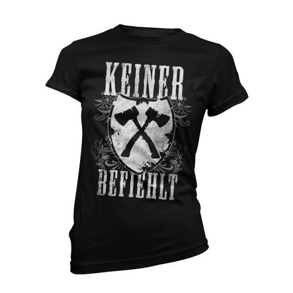 "Girly Shirt ""Keiner Befiehlt"""